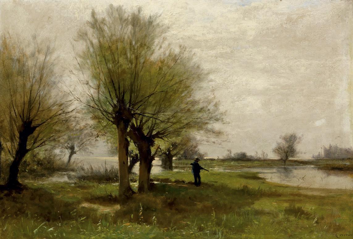 GUSTAVE EUGÈNE CASTAN (1823-1892)