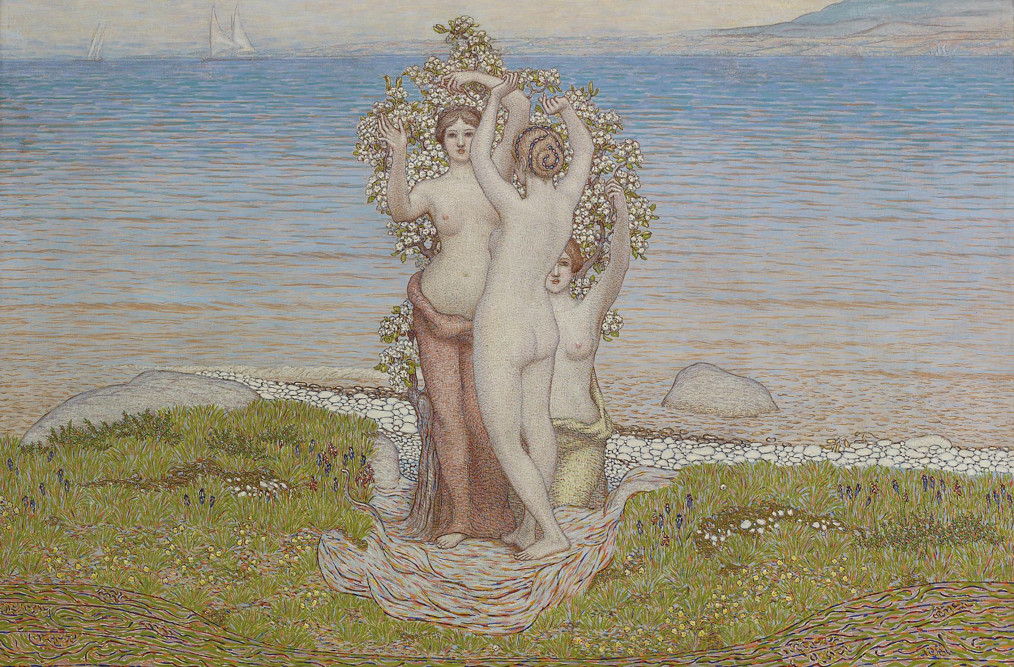 Les Trois Grâces, um 1900-03