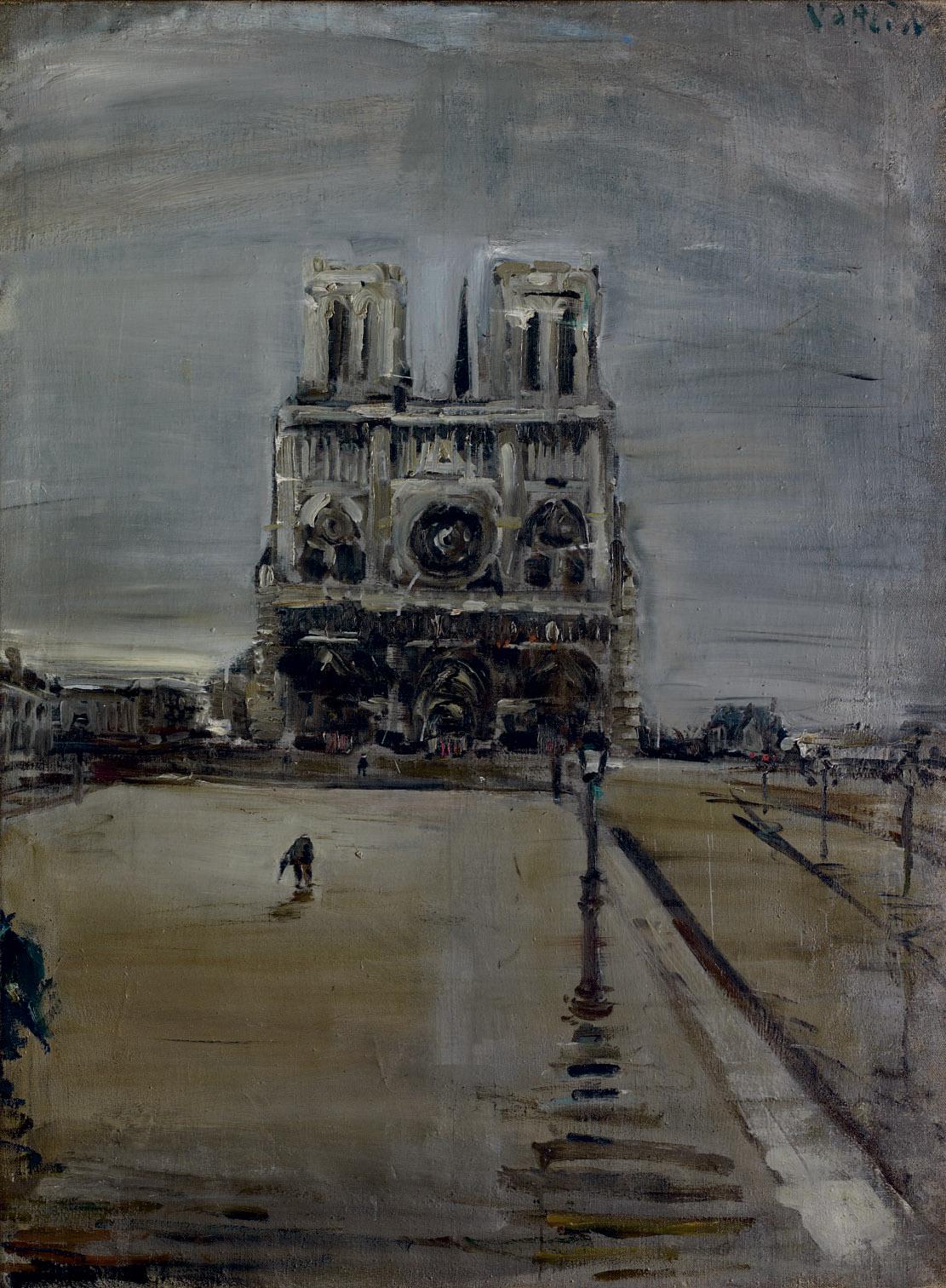 Notre-Dame in Paris, 1954