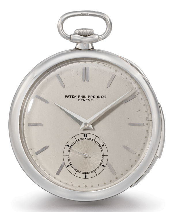 Kittel. A rare and unusual silver openface two days keyless deck chronometer with power reserve