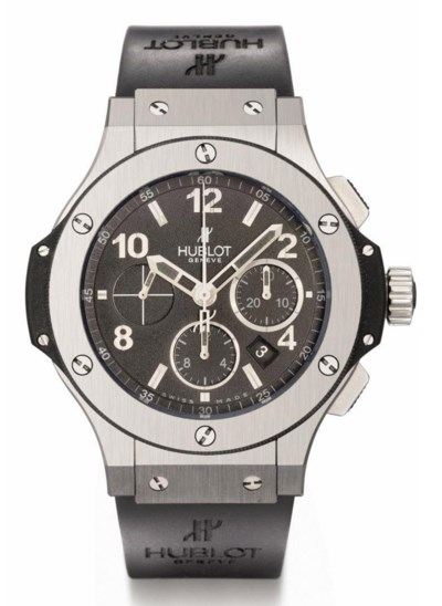 Hublot. A large black ceramic