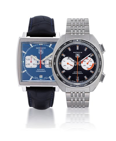 TAG HEUER  SET OF TWO STAINLES