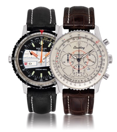 BREITLING  SET OF TWO STAINLES