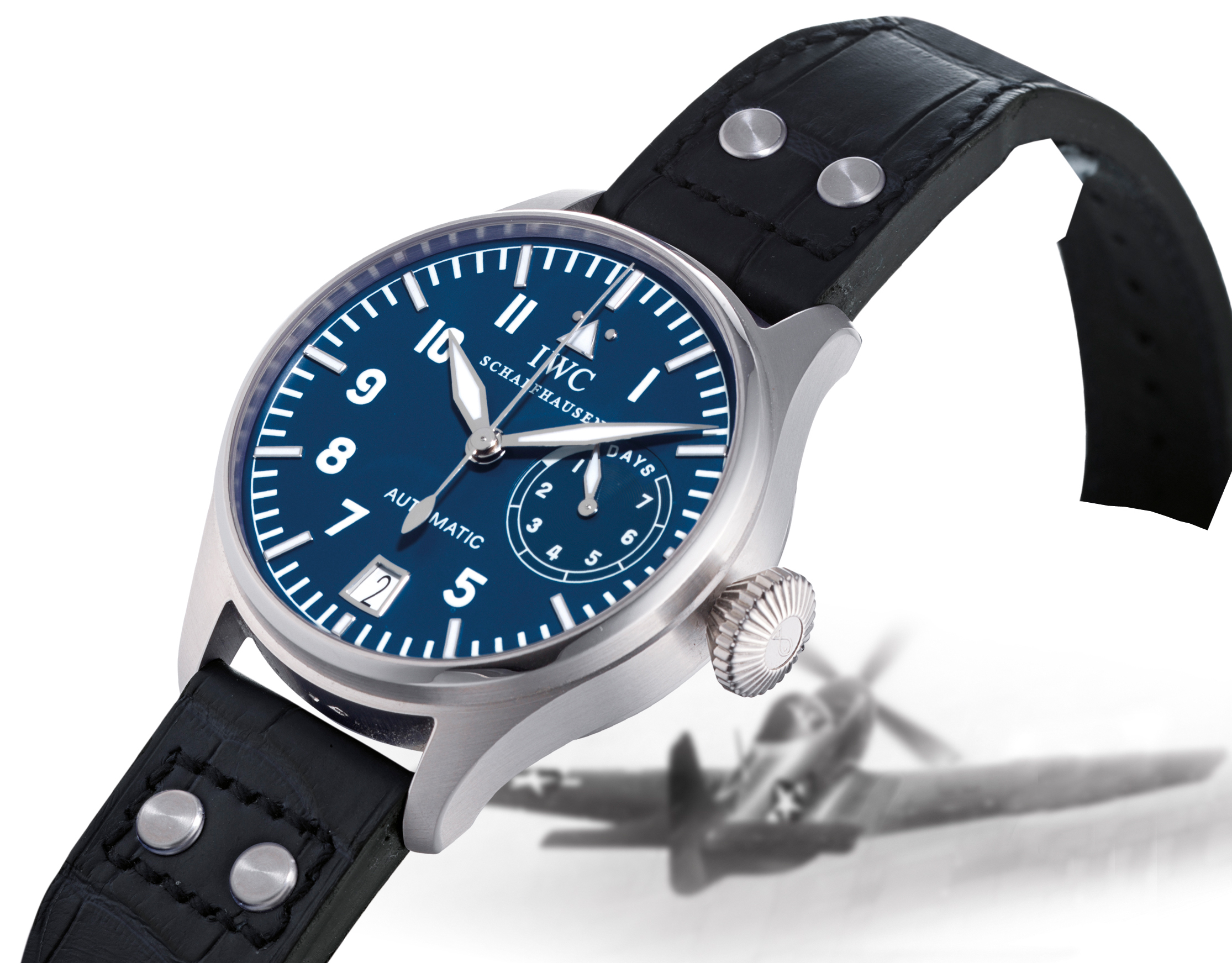 IWC, DIE GROSSE FLIEGERUHR  OVERSIZED PLATINUM AUTOMATIC PILOT'S WRISTWATCH WITH DATE AND 7-DAYS POWER RESERVE INDICATION, LIMITED EDITION OF 500