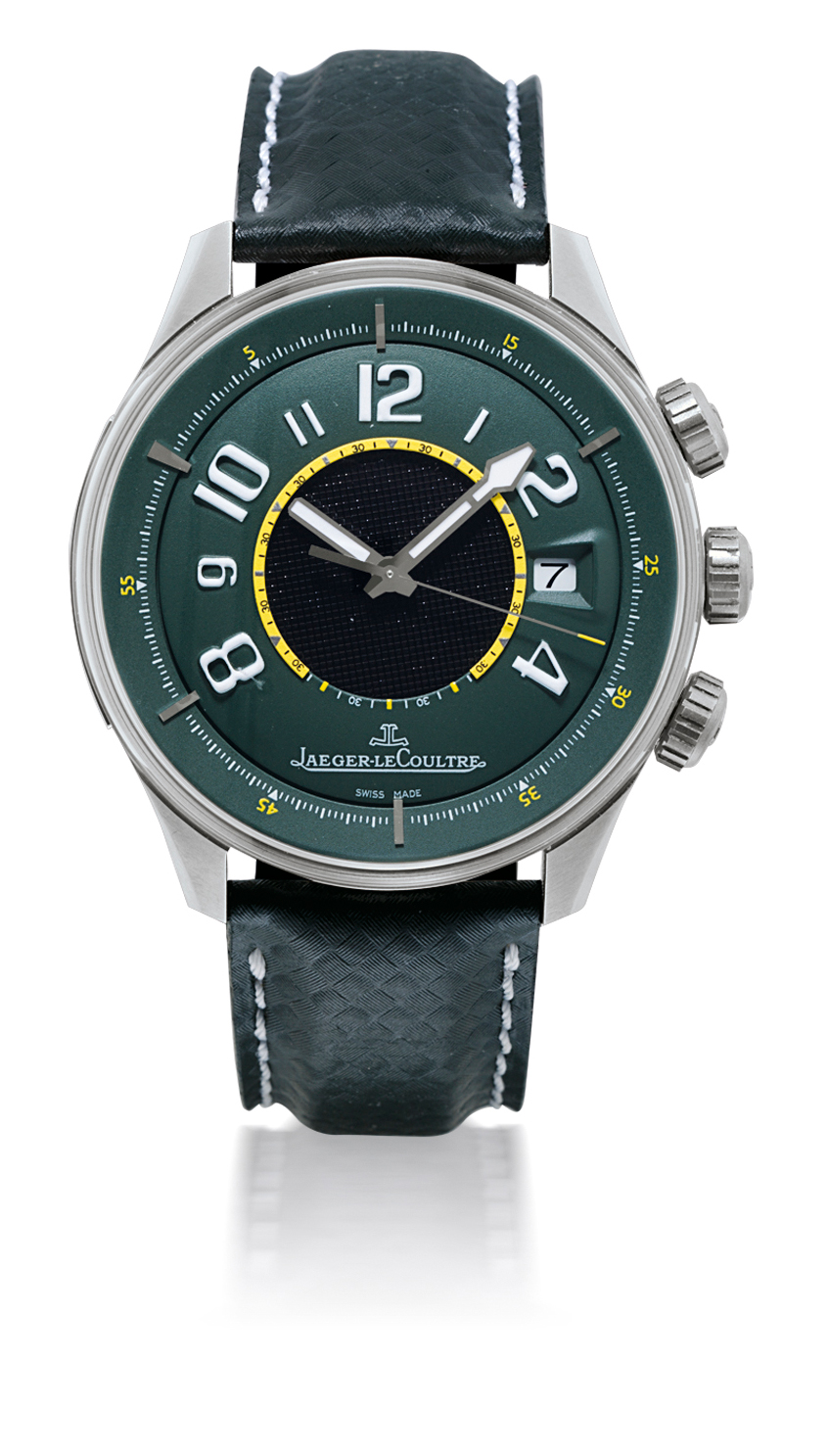 JAEGER-LECOULTRE, ASTON MARTIN AMVOX1  TITANIUM AUTOMATIC WRISTWATCH WITH ALARM FUNCTION AND DATE DISPLAY, LIMITED EDITION OF 500