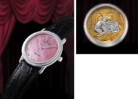 BLANCPAIN, PIÈCE UNIQUE  PLATINUM MANUALLY-WOUND MINUTE REPEATING WRISTWATCH WITH CONCEALED EROTIC AUTOMATON