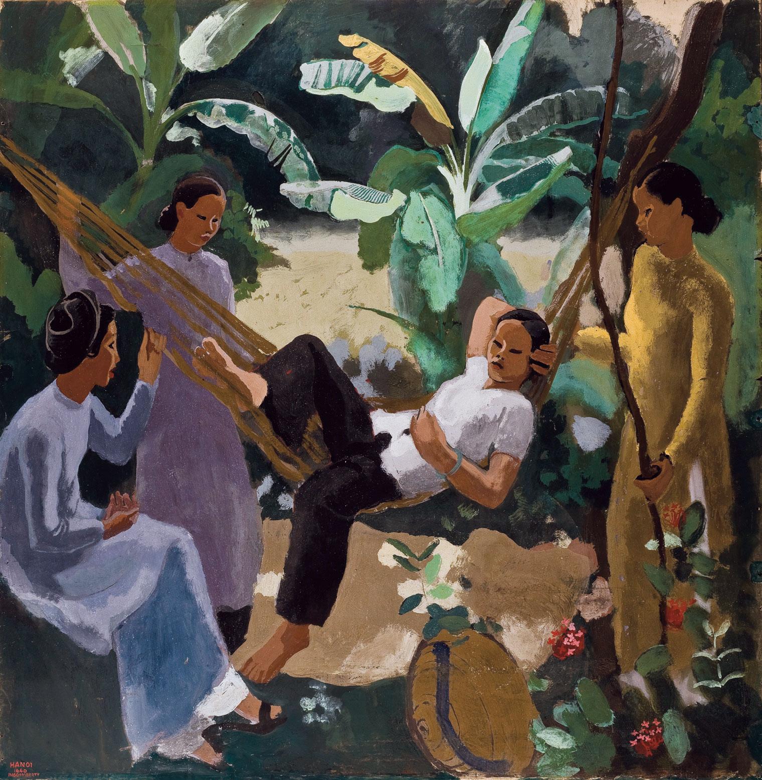 Femme au hamac (Woman in a hammock)