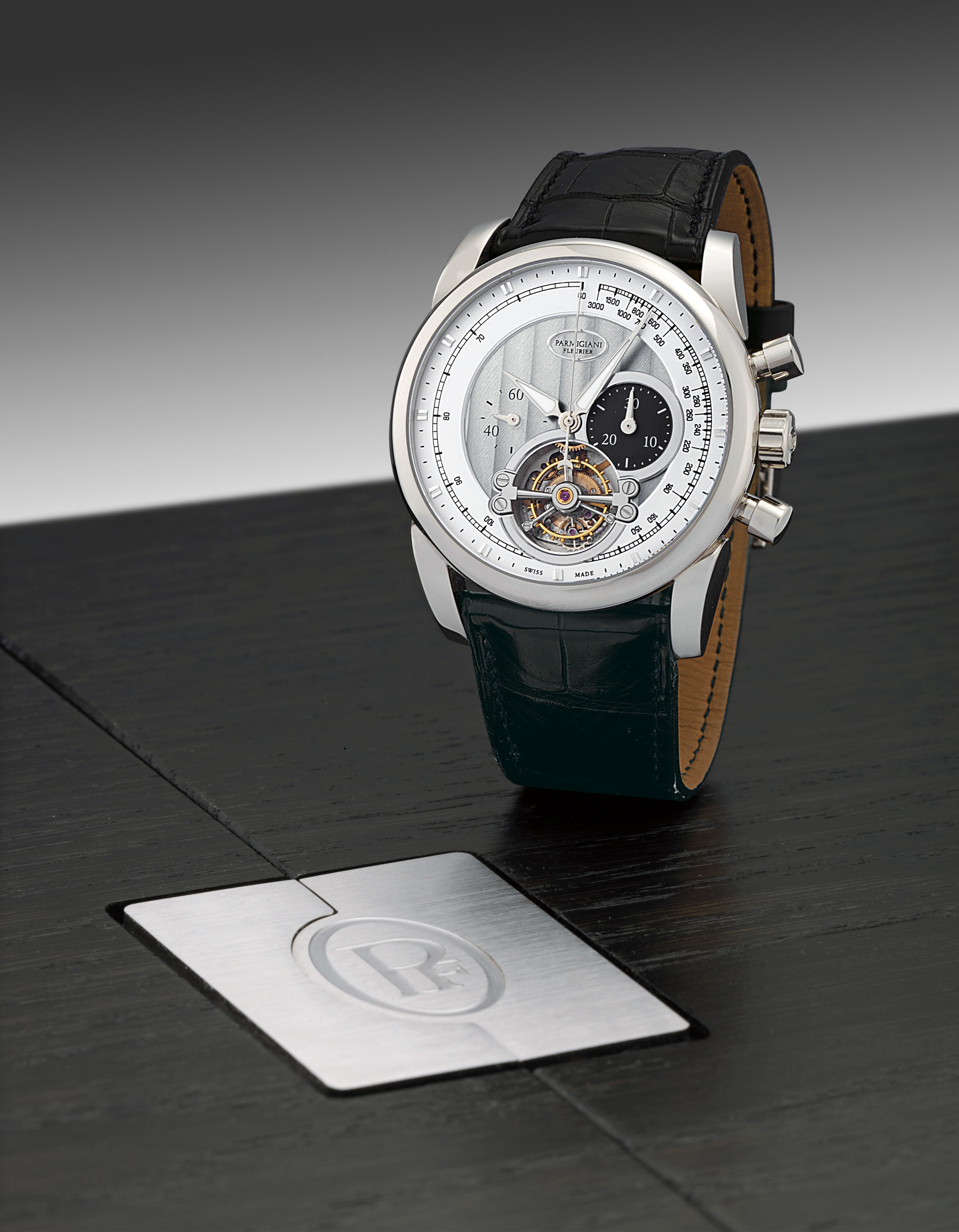 PARMIGIANI FLEURIER, TONDAGRAPH 43 TOURBILLON  WHITE GOLD MANUALLY-WOUND CHRONOGRAPH TOURBILLON WRISTWATCH, LIMITED EDITION OF 30