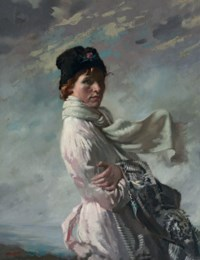 'In Dublin Bay': Portrait of the Artist's Wife