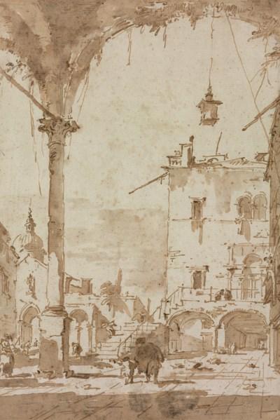 Francesco Guardi: Francesco Guardi (Venice 1712-1793) , A Venetian Capriccio
