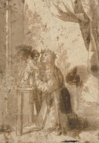The Christ Child appearing to Saint Mary Magdalen dei Pazzi