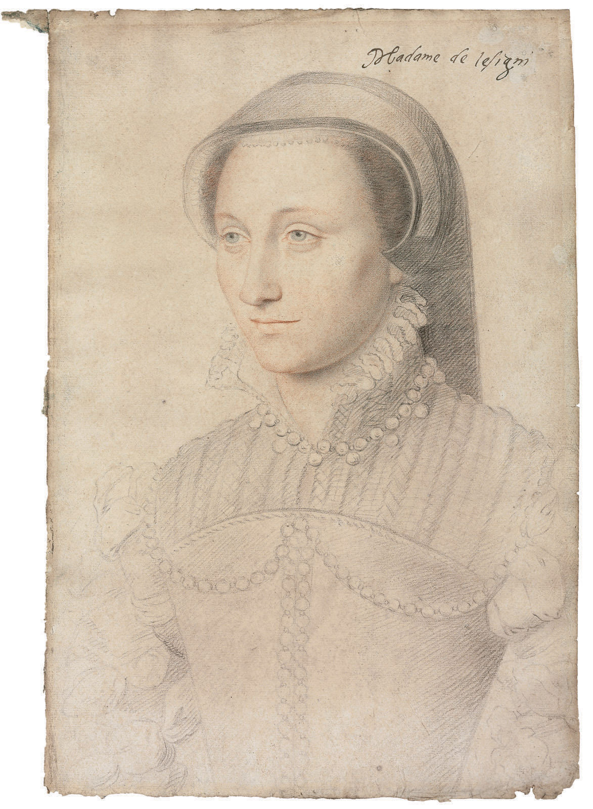 Portrait of Jeanne Clausse, dame de Lesigni