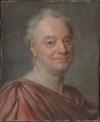 Portrait of Prosper Jolyot de Crébillon, bust-length in antique dress