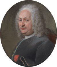 Portrait of a gentleman, bust-length in three-quarter profile