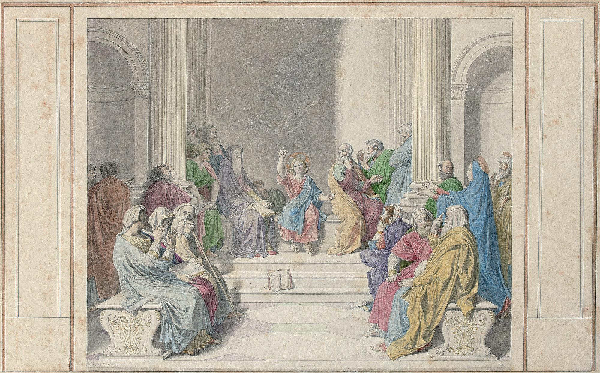 Jean Auguste Dominique Ingres (Montauban 1780-1867 Paris)