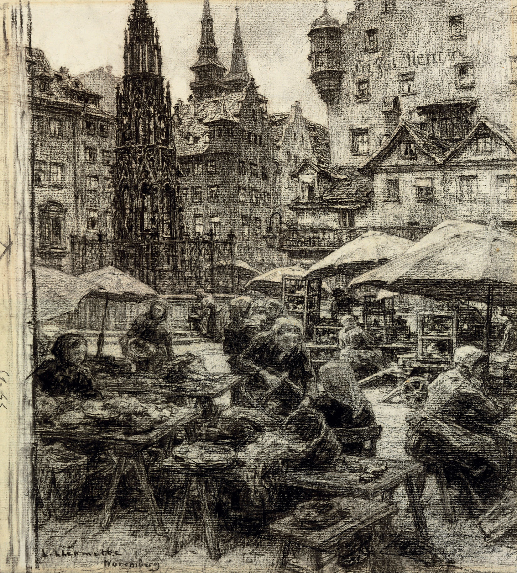 The market at Nuremberg