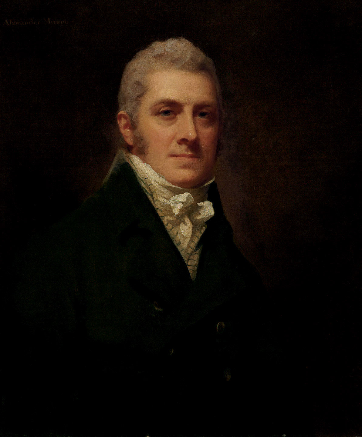 Portrait of Sir Alexander Munro (b.1763/4), half-length