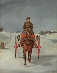The Mail Cart in Winter