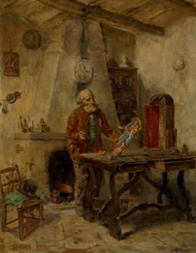 Gerolamo Induno (Milan 1825-1890)