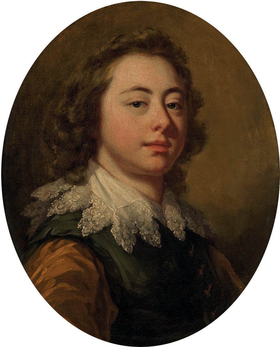 Portrait of a young man, bust-length