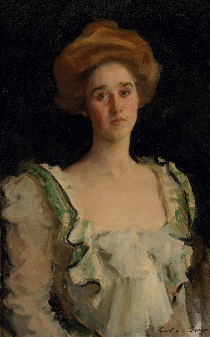 Portrait of Mrs. Frank McFadden