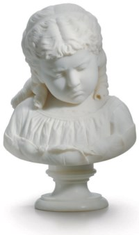 Reproof: Bust of a Young Girl