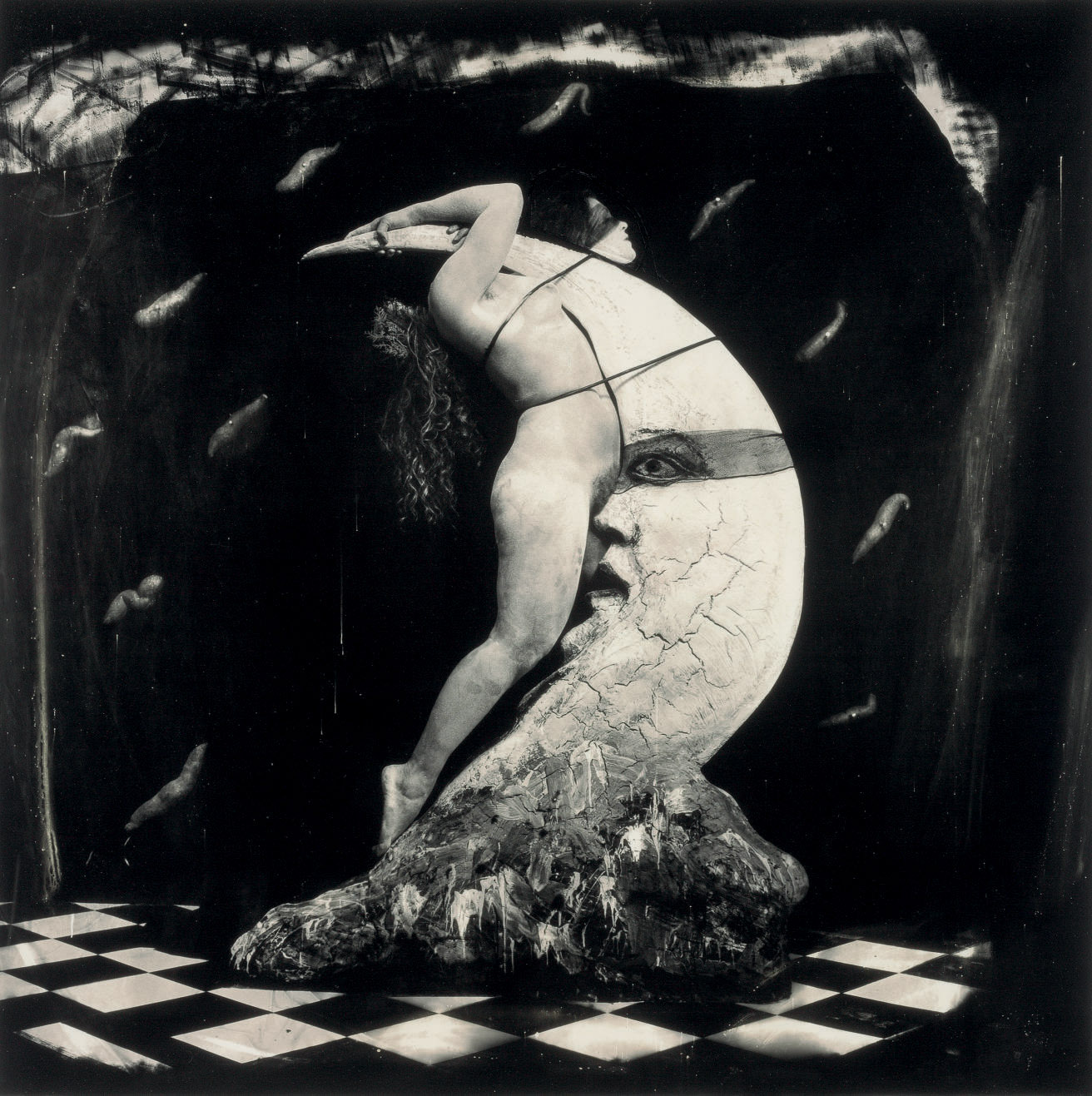 Woman Masturbating on the Moon, 1982