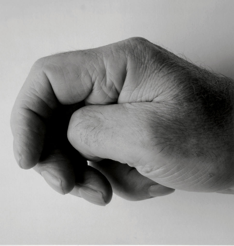 Self Portrait (Clenched Thumb II), 1988