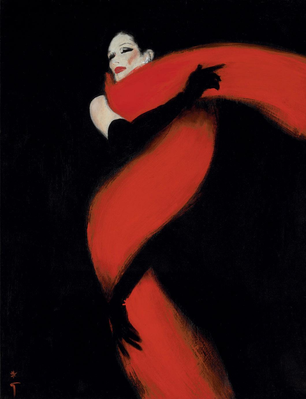 RENE GRUAU (1909-2004)