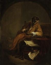 Le singe antiquaire ('The Monkey Antiquarian')