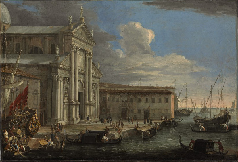 The Church of San Giorgio Maggiore and the Grand Canal, Venice