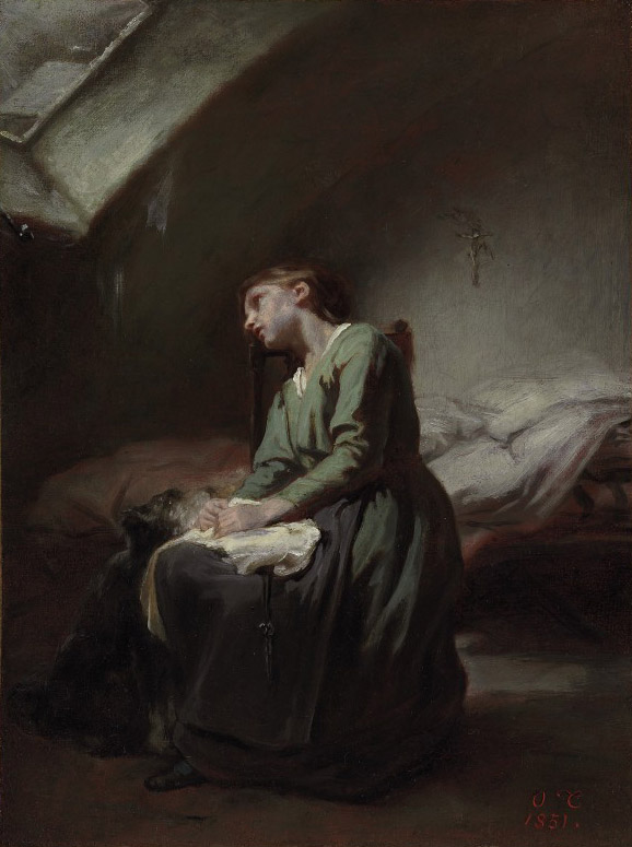 Francois Illas New Tradition: Nicolas François Octave Tassaert (Paris 1800-1874) , The