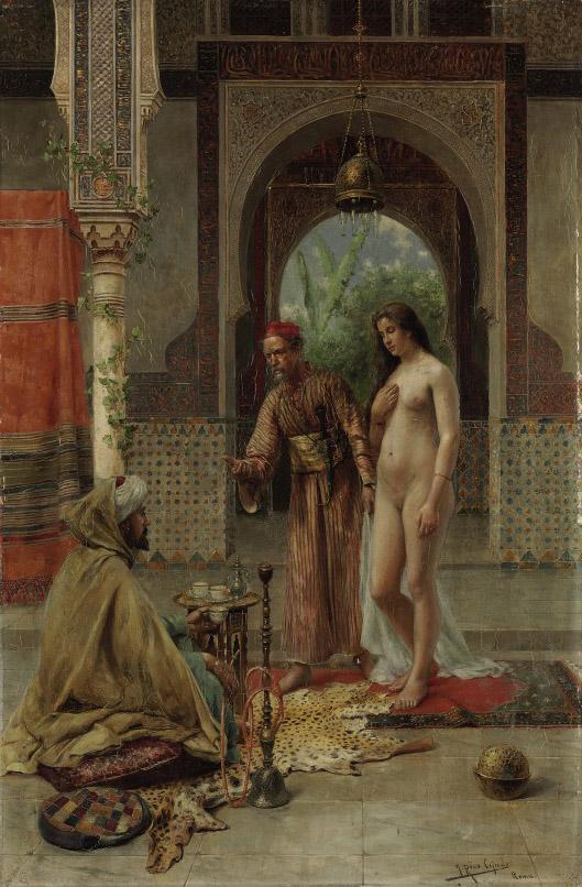The slave trader