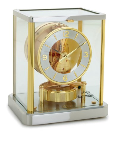 JAEGER-LECOULTRE. A GILT AND C