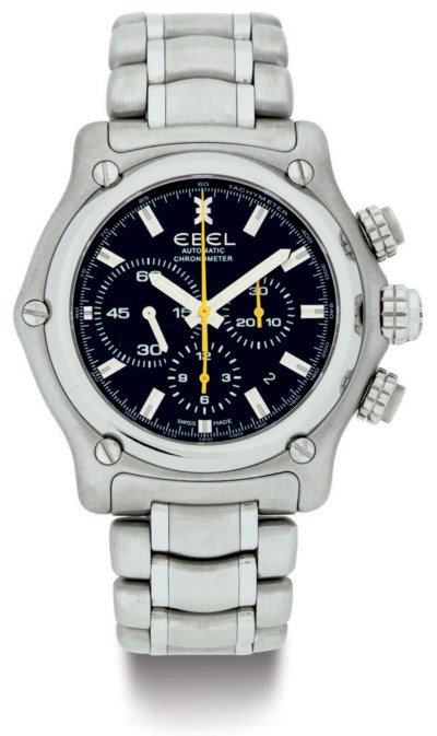 EBEL.  A STAINLESS STEEL AUTOM