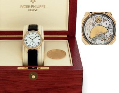 PATEK PHILIPPE.  A FINE AND RA