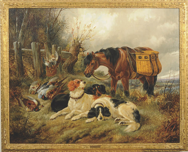 Resting after the hunt