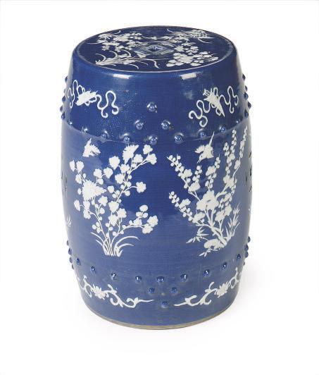 White Porcelain Garden Stool, Porcelain Garden Stools Chinese
