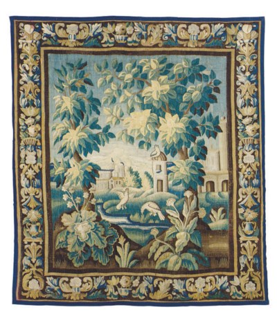 A FRENCH VERDURE TAPESTRY,