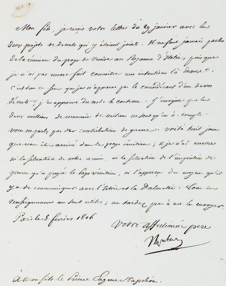 NAPOLEON BONAPARTE(1769-1821),
