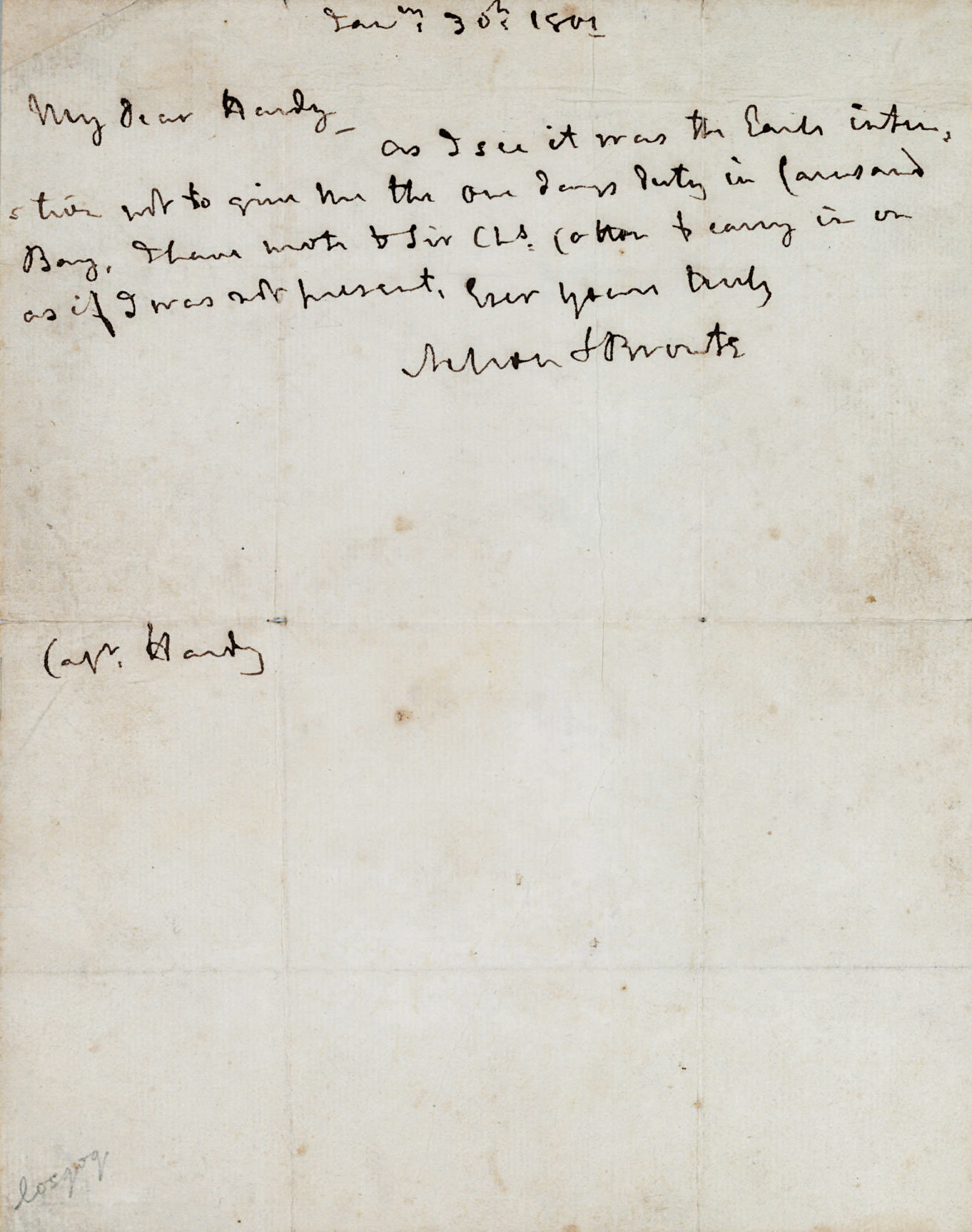 NELSON, Horatio (1758-1805) Vi