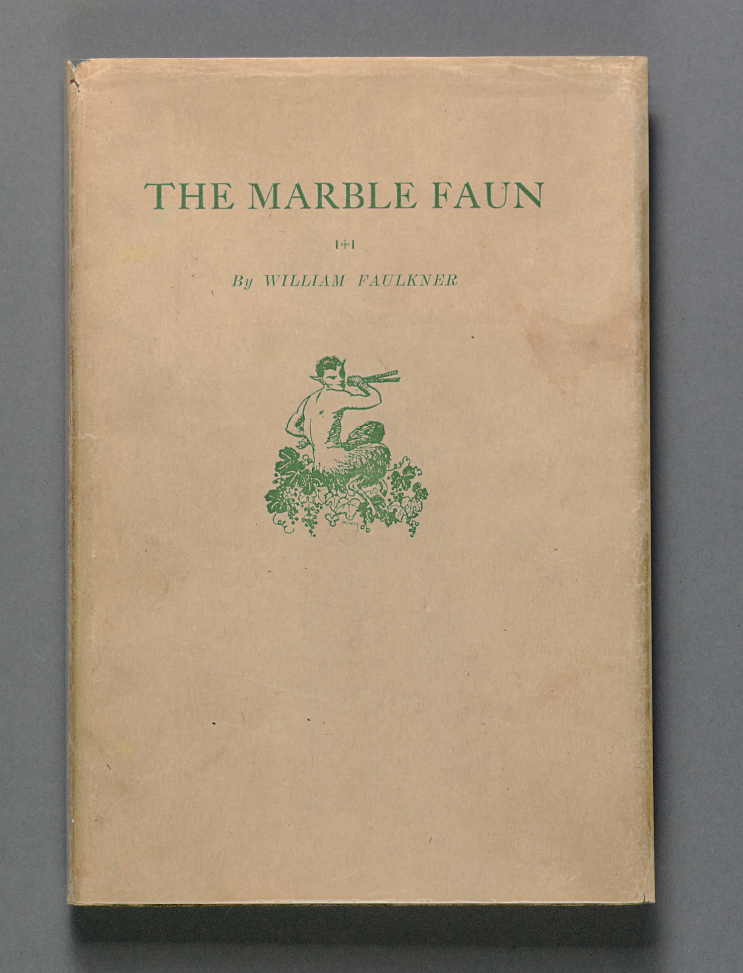 FAULKNER, William. The Marble