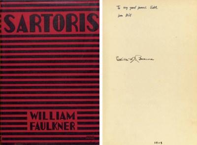FAULKNER, William. Sartoris. N
