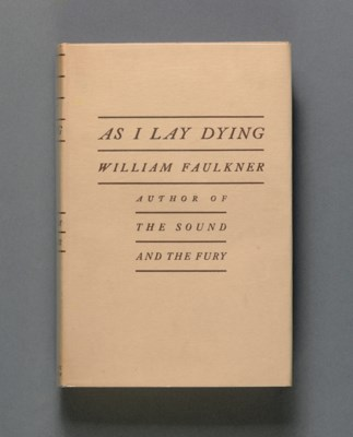 FAULKNER, William. As I Lay Dy