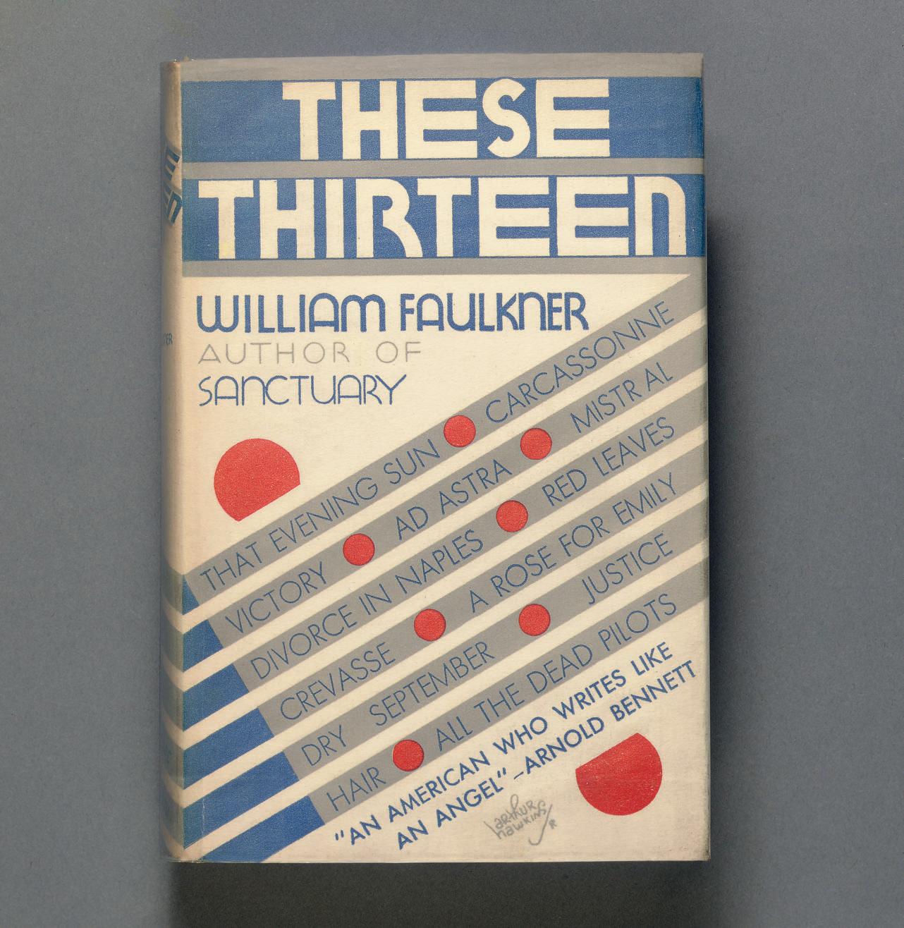 FAULKNER, William. These 13. N