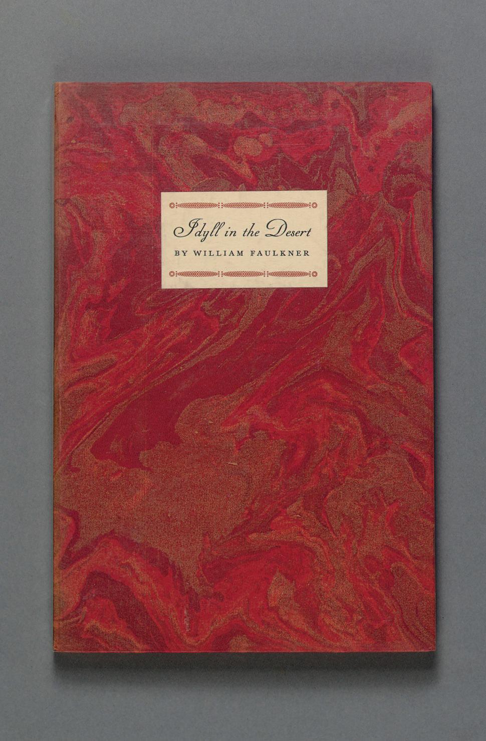FAULKNER, William. Idyll in the Desert. New York: Random House, 1931.