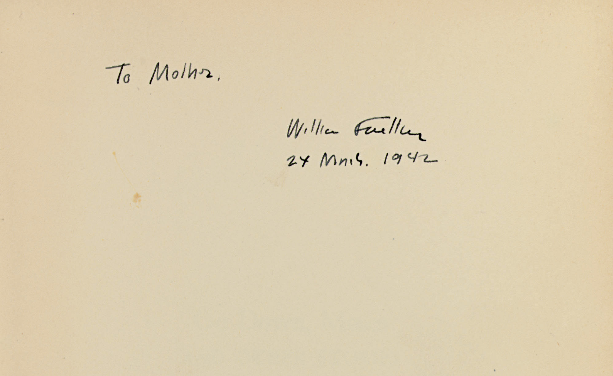 FAULKNER, William. Go Down, Mo