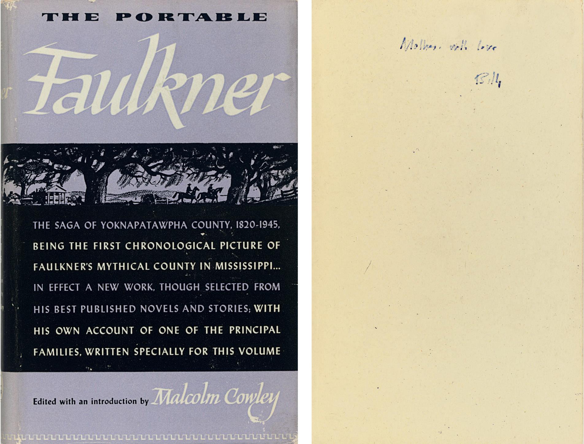 FAULKNER, William. The Portabl