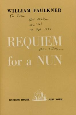 FAULKNER, William. Requiem for