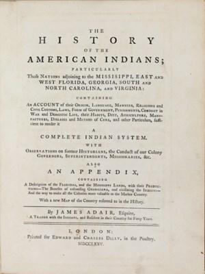 ADAIR, James (ca 1709-ca 1783)